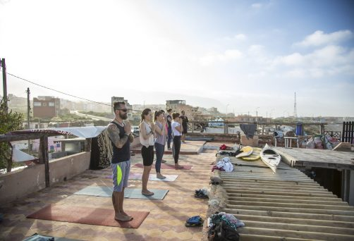 Yoga i surf  w Maroko –  Imsouane 17-24.11.2018